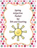 Spring Adjective Activities