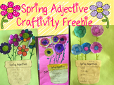 Spring Adjective Craftivity Freebie