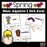 Spring Parts of Speech Task Cards