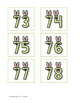Spring Ahead ~ Counting by 2s, 5s, and 10s