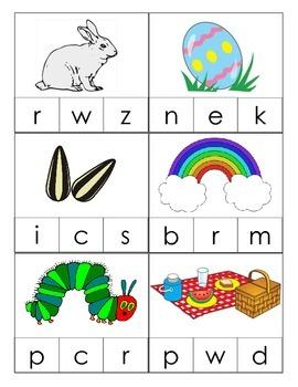 Spring Alliteration Practice Worktub