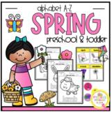 Spring Alphabet A-Z for Preschool & Toddlers