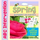 Spring Alphabet Activities {Letter Identification, Sequencing & Sounds}