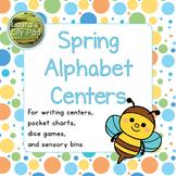 Spring Alphabet Centers