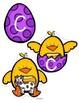 Spring Alphabet Chicks - Matching Upper Case, Lower Case and Beginning Sounds