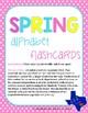 Spring Alphabet Flashcards