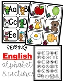 Spring Alphabet For Pocket Chart