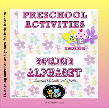 Spring Alphabet Learning Centers