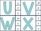 Spring Alphabet Match Clip Cards