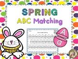 Spring Alphabet Matching