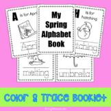Spring Alphabet Mini Coloring Book