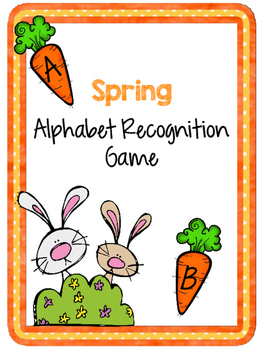 Spring Alphabet Recognition Game