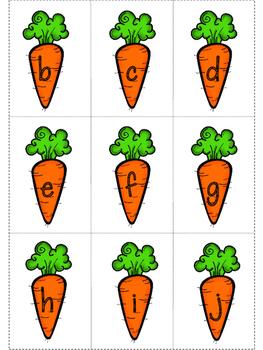 Spring Alphabet Recognition Game