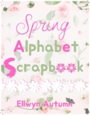 Spring Alphabet Scrapbook