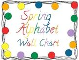 Spring Alphabet Wall Chart