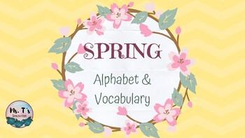 Spring Alphabet & Word Wall Words