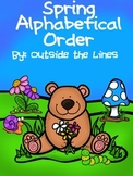 Spring Alphabetical order activity