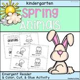 Spring Animals | Emergent Reader and Matching Activity