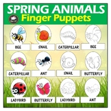Spring Animals Finger Puppets