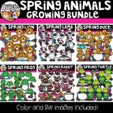 Spring Animals Growing Bundle {Spring Clipart}