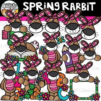 Spring Animals Clipart Bundle {Spring Clipart}