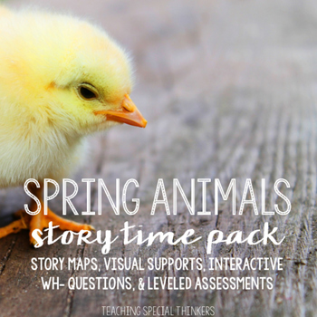 STORY TIME PACK: SPRING ANIMALS