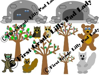 Forest Animals and Plants