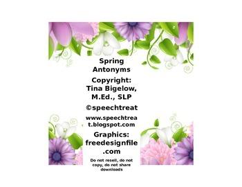 Spring Antonym Match