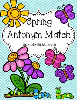 Spring Antonyms Match