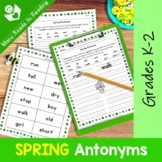 Spring Antonyms Grades 1-2