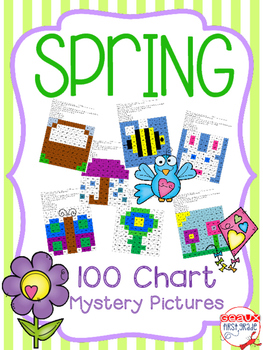 Spring (April) 100 Chart Mystery Pictures