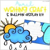 April Bulletin Board Writing Craft