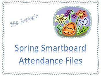 Spring April May Smartboard Attendance