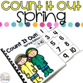 Spring April Showers Count It Out Adapted Book