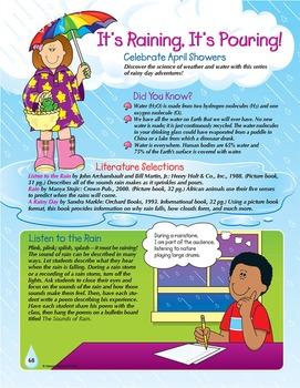 Spring April Showers Grades 1-3