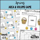 Spring Area & Volume Game