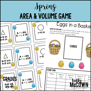 Spring Area & Volume Game