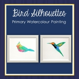 Bird Silhouettes Watercolour Painting Lesson
