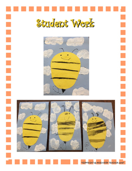 Spring Art Lessons - Insects