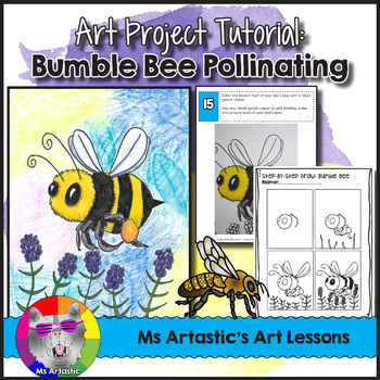 Spring Art Project, Bumble Bee