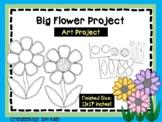 Spring Art Project - Flower Project - Garden Bulletin Boar