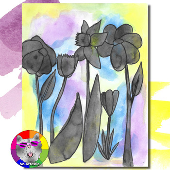 Spring Art Project, Flowers