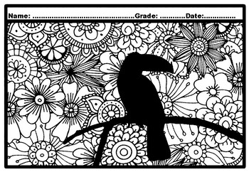 Toucan Pictures For Kids - Coloring Home | 242x350
