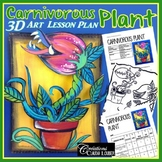 Spring: Art Lesson for Kids: Carnivorous Plant