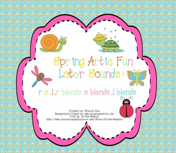 Spring Artic Fun: Later Sounds