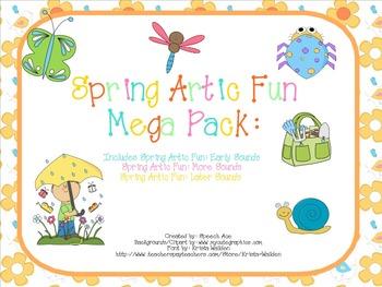 Spring Artic Fun: Mega Pack