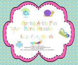 Spring Artic Fun: More Sounds (k,g,f,v,sh,ch)