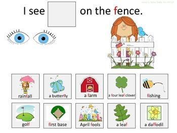 F & V Spring Artic/Language Sentences & Activities for Speech Therapy