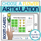 Spring Articulation Boom Cards™️ Speech Therapy | Flowers