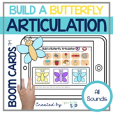 Spring Articulation Boom Cards™️ for Speech Therapy Build